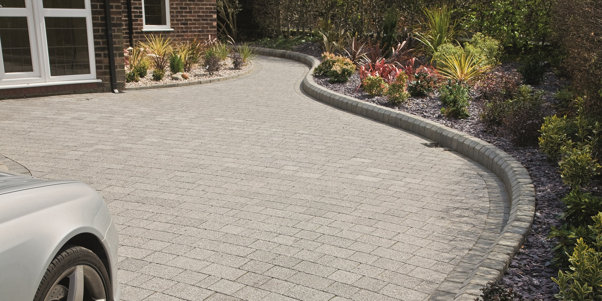 Block paving driveway in Chandlers Ford