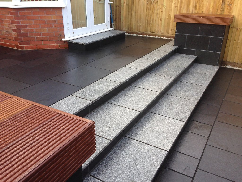 Paving and steps