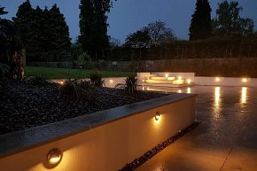 Patio and lawn design in chandlers ford