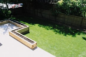 Contemporary Family Garden Design and Construction