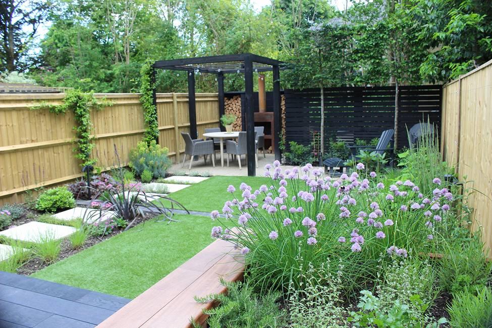 Garden Design Construction in Winchester